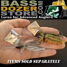 FINESSE bass fishing buzz baits. Free KVD trailer hook! FREE buzzbait trailers!