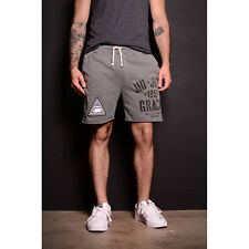 Roots of Fight Gracie Jiu-Jitsu 1952 French Terry Shorts - Gray