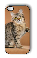CAT AMERICAN BOBTAIL BREED CASE FOR iPHONE 4 5 5C 6 -srd4Z