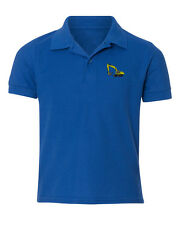 Dirt Excavator  Embroidered Kid Children Toddler Infant Polo Shirt 12mo-6T