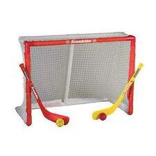 New Franklin Oversized hockey mini goal sticks and ball set kids indoor knee net