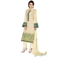 Designer Georgette Embroidered Salwar Kameez Suit Indian Dress-Sim-Royale-744
