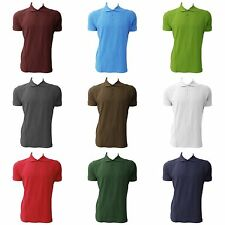 Jerzees Colours Mens Ultimate Cotton Short Sleeve Polo Shirt