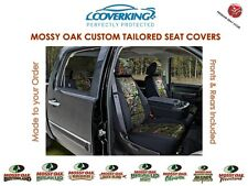 Coverking Neosupreme Mossy Oak Front & Rear Camo Seat Covers for Nissan Frontier