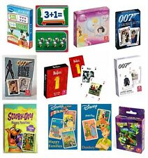 Disney HAPPY FAMILIES Card Game - Select Character (Children's/Travel/Playing)