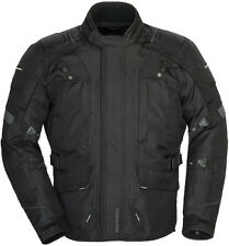 Tourmaster Transition 4 Motorcycle Jacket Black Free Size Exchanges