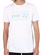 Billabong White Fairweather Surf T Shirt / Tee. Size S - 3XL. NWT, RRP $45.99.