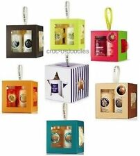 Body Shop WHITE or RED MUSK EDT Body Lotion Gift or Cube Set Gel, Lotion & Lily