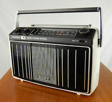 Vintage Sony MR-9100W AM/FM Portable Stereo Matrix Radio Tested & Works Mid Mod
