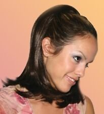 """19"""" LONG FALL STRAIGHT HAIR EXTENSIONS W/COMB HAIRPIECE LAYERS ON THE ENDS 1721"""