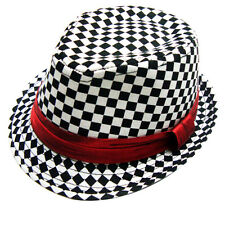 Cool Fashionable Kids Jazz Toddler Cap Cool Photography Fedora Hat For Children