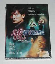 "Andy Lau Tak-Wah ""Century of the Dragon"" Louis Koo  RARE HK 1999 Action OOP DVD"