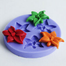 Silicone flower reusable resin mold mould resin jewelry making crafts hairpieces