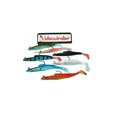 """SIDEWINDER SUPER HOLOGRAPHIC SAND EELS ALL COLOURS 4"""""""