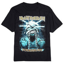 Iron Maiden - Powerslave Eddie Mummy Black T-Shirt - BRAND NEW