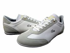 Lacoste Mens Gaston PS Low Lace Up Casual Walking Sneakers Fashion Shoes Kicks