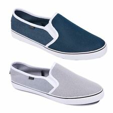 Mens Canvas Espadrilles Rock & Religion Plimsolls Trainers Shoes Sizes 7 - 11
