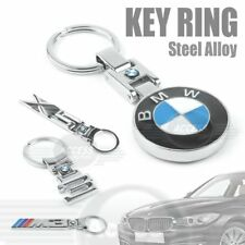 22 STYLES CHROME STEEL ALLOY METAL KEY RING FOB KEYCHAIN FIT ALL BMW M POWER