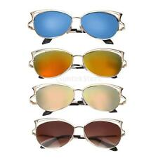 New Ladies Womens Large Frame Vintage Retro Sunglasses UV400