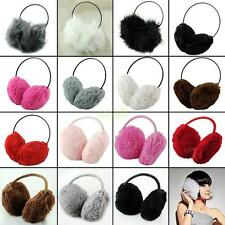 Winter Women Fluffy Faux Fur Earmuffs Ear Warmer Ear Muffs Earcap Earlap Earflap