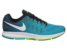 NEW MENS NIKE AIR ZOOM PEGASUS 33 RUNNING SHOES TRAINERS RIO TEAL / MIDNIGHT TUR
