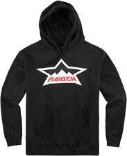 Icon Raiden Splintered Hoody - Black