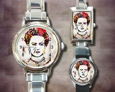 Italian Charm Metal Watch Round Square Frida Kahlo 21 art painting L.Dumas