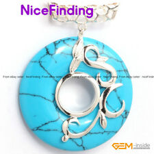 Charms Silver Plated Pendant+Chain Ring Beads Fashion Women Jewelry Mother Gifts