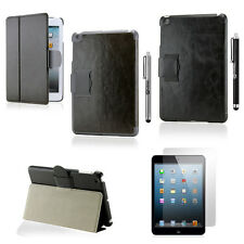 Folio Magnetic PU Leather Cover Stand Case For Apple iPad Mini 1 3 2 Hard Case