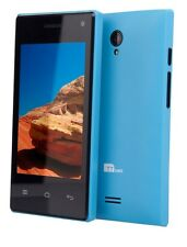 TTsims M5 3.5 inch Android Smart Phone Dual Camera 3G Dual 2 Sim Cards - Blue