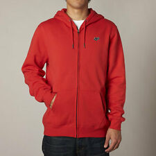 Fox Racing Legacy Mens Zip Up Hoody Flame Red