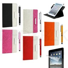 360 Rotating Magnetic PU Leather Case Smart Cover Stand For Apple iPad 2 3 4