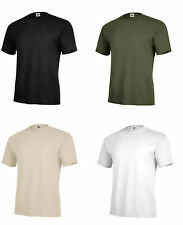 Solid Color T-Shirt Black OD Green Desert Sand Army Navy Marine Corps USAF USMC