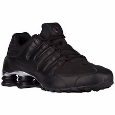 NIKE SHOX NZ 2016 BLACK CHROME MENS RUNNING SHOES **FREE POST AUSTRALIA