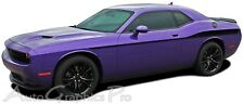 2011-2017 Dodge Challenger Roadline Upper Body Stripes 3M Vinyl Graphics Decals