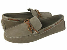 Cole Haan Mens Air Grant Slip On Light Brown Suede Drivers Loafers Driving Shoes