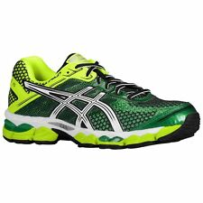 New! Mens Asics Gel Cumulus 15 Running Shoes Sneakers - 15 green