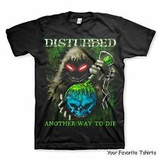 Disturbed Toxic Globe Another Way To Die Officially Licensed Adult Shirt S-XXL