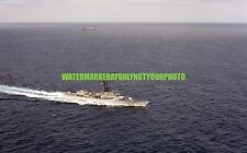 USN Frigate USS KOELSCH FF-1049 Color Photo Navy Ship Military Vet FF 1049