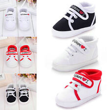 New Cute Infant Toddler Baby Boy Girl Kids Soft Sole Shoes Sneaker Newborn 0-18M