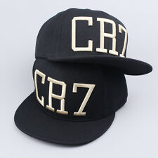 Fashion CR7 Baseball Cap Brim Snapback Hat Hip-Hop Adjustable Bboy Cap Unisex