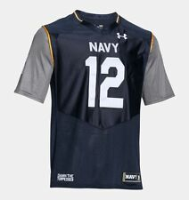 NAVY MIDSHIPMEN Premier Jersey L Large SEWN NWT NEW Under Armour NAVAL ACADEMY