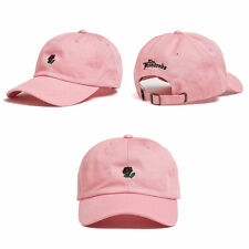 New Embroidery Rose Adjustable Peaked Hat Hip-hop Curved Snapback Baseball Cap