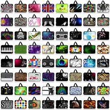 """Many 10"""" 10.1"""" 10.2"""" Neoprene Laptop NetBook Sleeve Bag Case Cover Pouch Handle"""