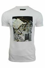 Mens T-Shirt 'Techtonic' by FCUK/French Connection Short Sleeved