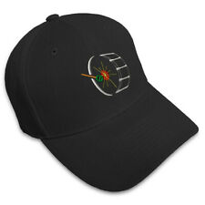 BASS DRUM MUSIC Embroidery Embroidered Adjustable Hat Baseball Cap