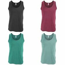 American Apparel Mens Plain Sleeveless Tri-blend Tank/Vest Top