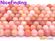 6mm 8mm 10mm Natural Pink Opal Stone Round Beads For Jewelry Making Gemstone 15""