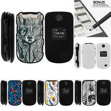 For LG Revere 3 VN170 Case Hard Snap On 2 Piece Slim Shell Drawn Designs
