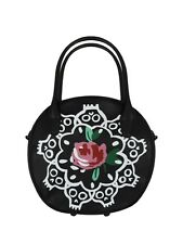 Iron Fist Ring Around A Rosy Black Handbag